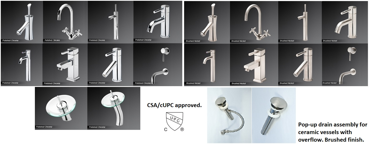 Faucet & Accessories Selection