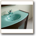 Glass Top Vanities