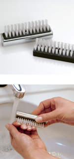 Stainless Steel Nail Brush