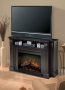 Langley Media Console - Espresso Finish