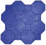 Utah Stone Octagon Tile w/Square Accent