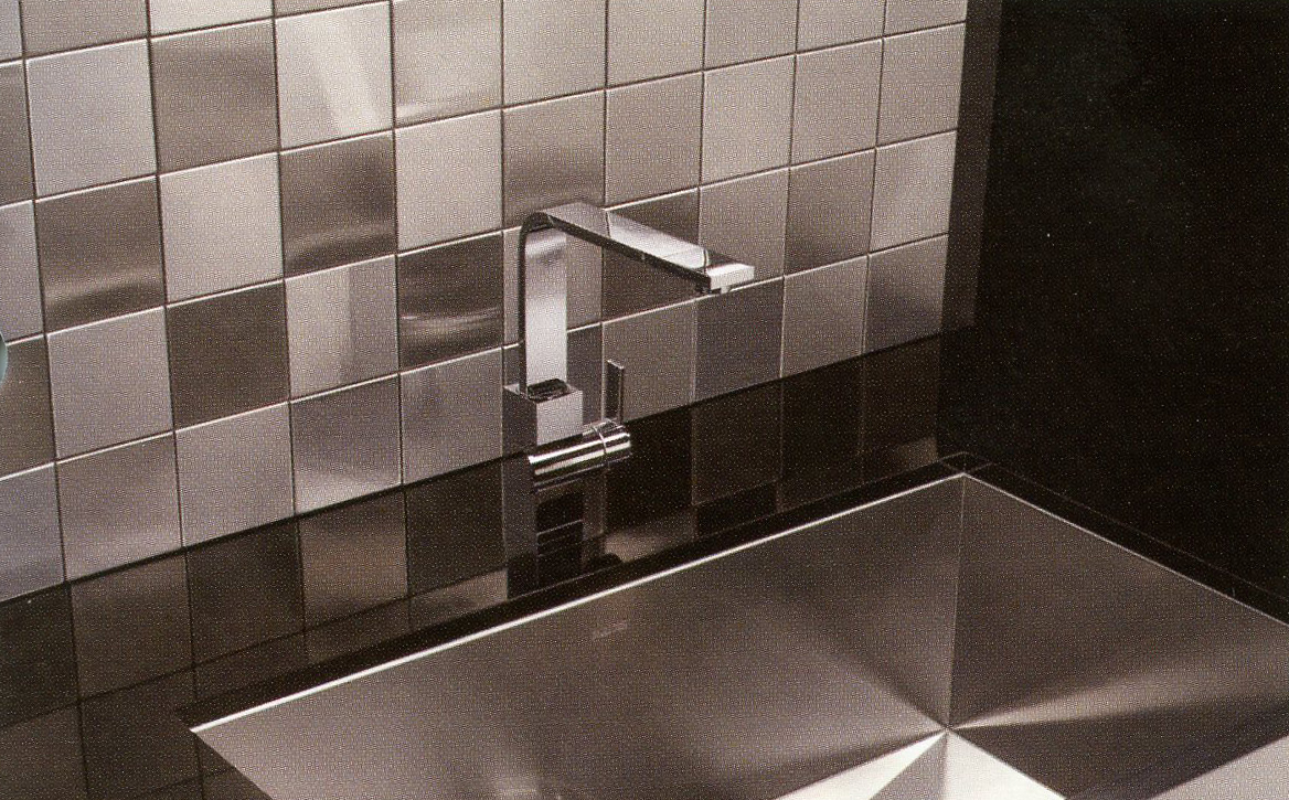Stainless Steel Tiles  - 6x6