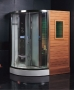 Ariel Platinum - DS202 Steam Shower / Dry Sauna 71 x 47