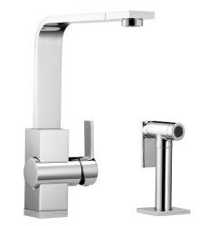 ZIROS - Single lever, solid spout