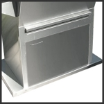 Kentwood Door (Stainless Steel)