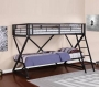 Z Style Bunkbed - Sandy Black Finish