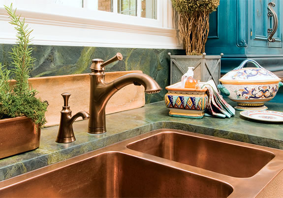 Baliza - Pull Out Kitchen Faucet with Soap Dispenser