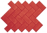 Herringbone New Brick (sanded joint)