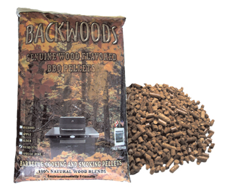 Wood Pellets - Apple Flavor - 20 Lbs