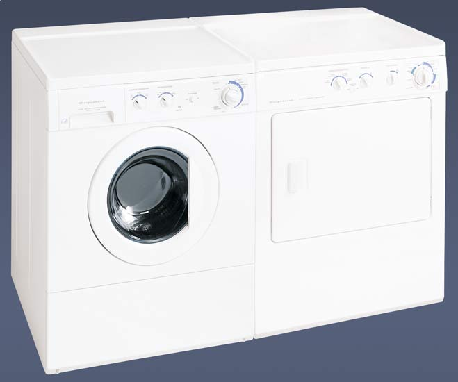 3.1 CF Front-load Washer & 5.7 CF Dryer Pair