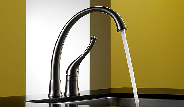 Providence Contemporary - Single Handle Kitchen Faucet