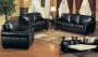 Avila - Dark Brown Leather Sofa Set