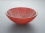 Double Layer Glass - SG-D04, Red Crackled
