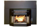 Deluxe Glow Boy Bay Window Fireplace Insert