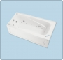 Mirolin - 5\' Tile Flanged Bathtub