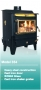 Hitzer - Coal Burning Free Standing Heater