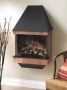 Copper Wall Mount Fireplace