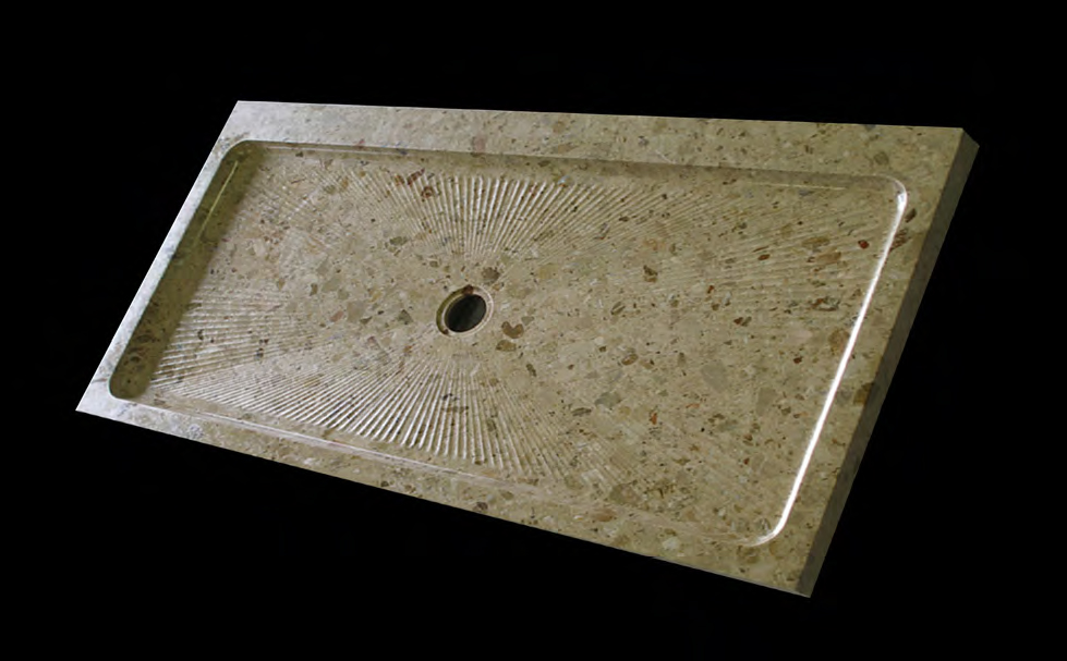 Solid Stone Shower Trays - Various Colors/Sizes
