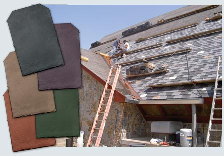 Inspire Roofing Products - Look of authentic slate