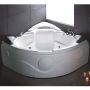 Ariel Platinum Whirlpool Bath Tub 61.6 x 61.6