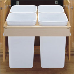 Wood Recycling Pull-Out Bin x4