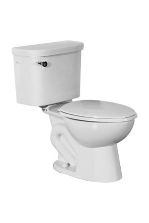 Corina Green VS - 2 Piece Elongated Toilet