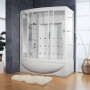 Ameristeam Whirlpool Steam Shower 68 x 42