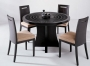 Wave - Espresso / Glass Dining Set