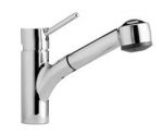 QUADRA - Single lever, pull-out faucet