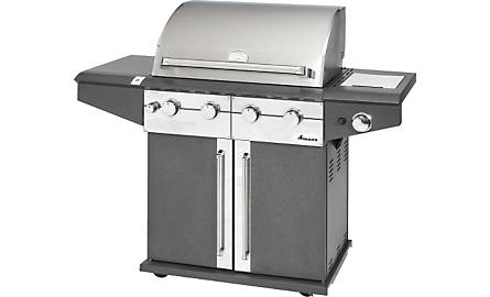 4 Burner 70,000 BTU Propane Gas Barbeque