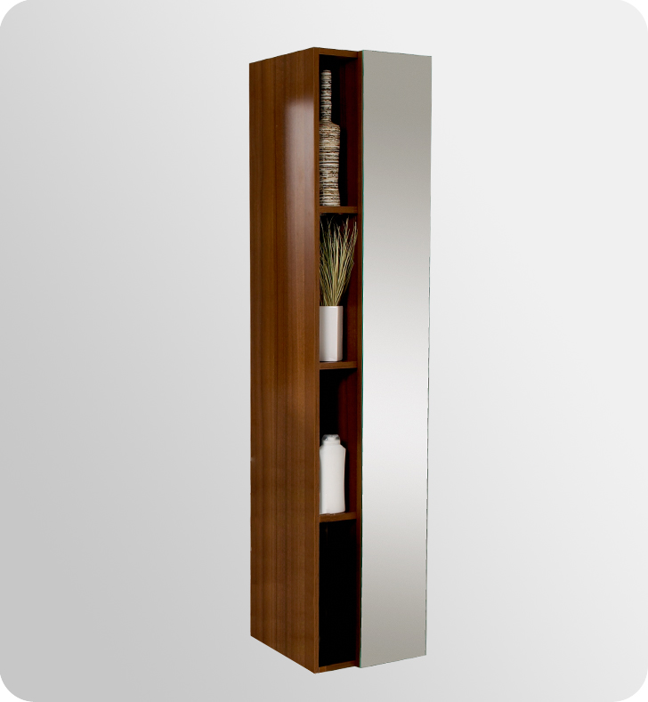 Bathroom Storage & Linen Units - Teak