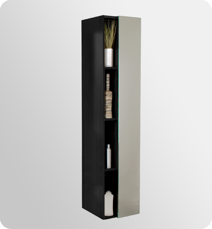 Bathroom Storage & Linen Units - Black
