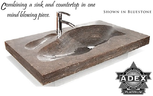 Grand Tahoe - Natural Stone Vessel - 21 37 49 & 61