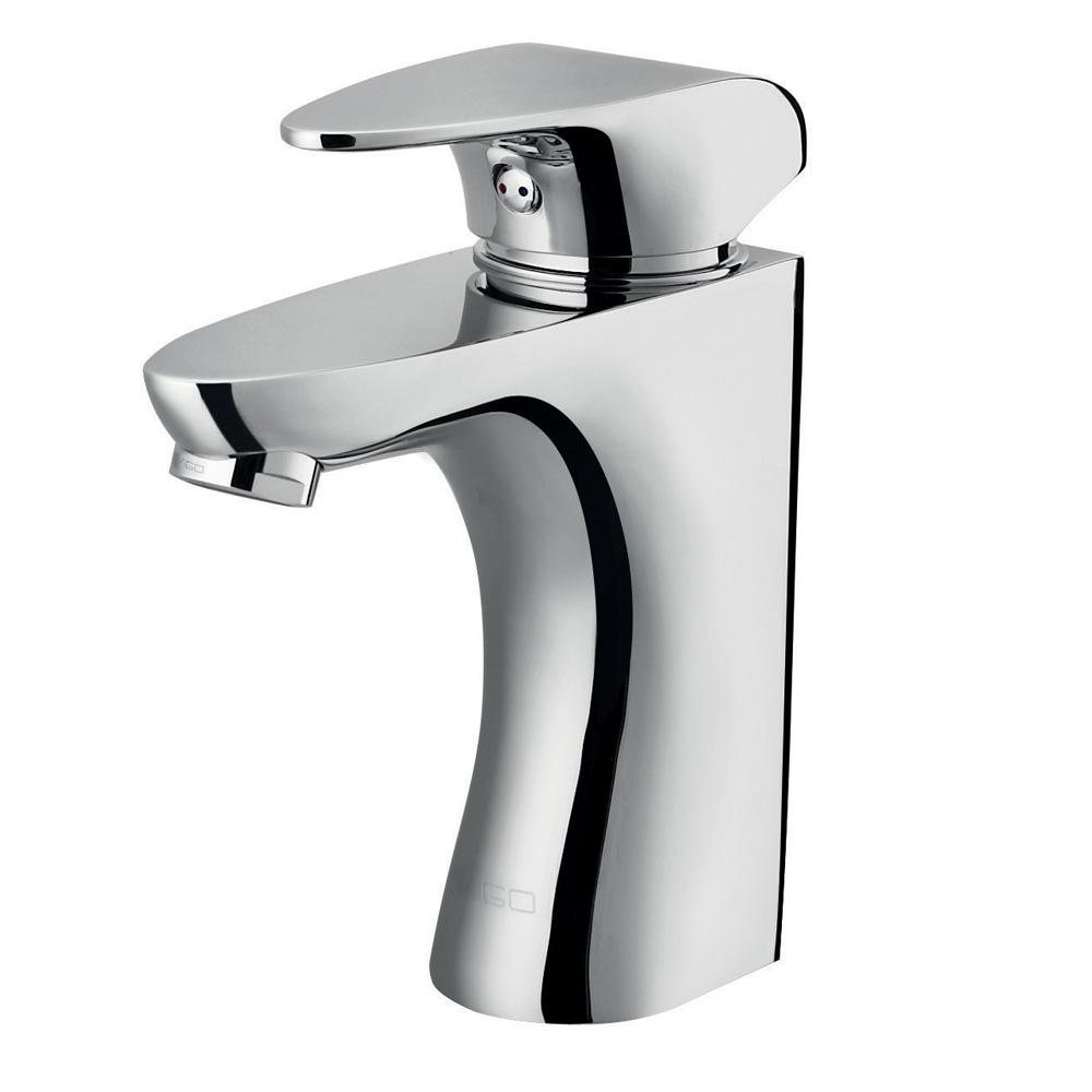 Siegfried Single Lever Chrome Finish Faucet