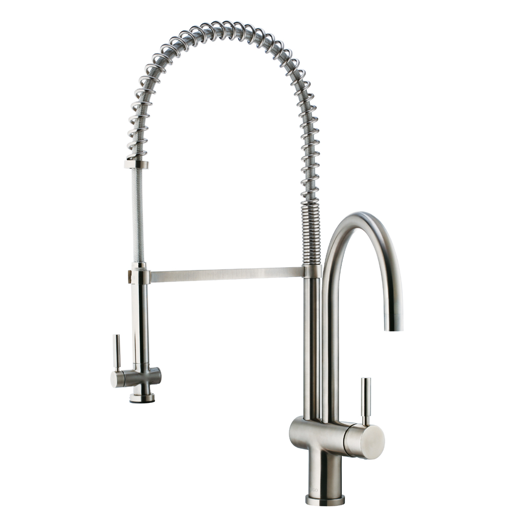 VG02006 - Pull-Down Spray Kitchen Faucet Chrome or Stainless