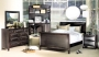 Kennebec - Espresso Finish, Single or Double Bedroom Set