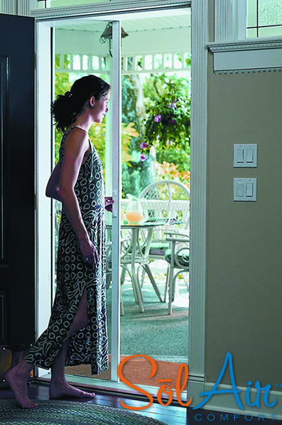 Retractable Screen Doors - 11 Colors 3 Sizes Available