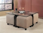 Blumia - Occasional Table c/w 4 Stools