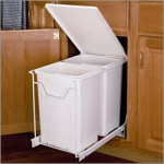 Recycling Pull-Out Bin x2 with Lid