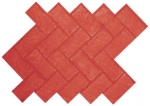 Herringbone New Brick (fine grout)