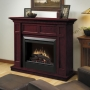 Casual Elegance Electric Fireplace in Cherry Finish