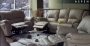 Aspen - Taupe Leather Sofa Set