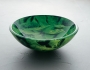 Double Layer Glass - SG-D03, Green leaves