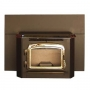 Automatic Glow Boy Fireplace Insert Gold Door