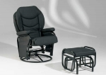 Lagonissi - Swivel Chair and Ottoman