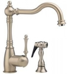 GRACE - Single lever, solid spout faucet