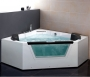 Ariel Platinum - AM156 Whirlpool Bath Tub 59 x 59
