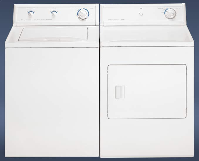 Super Capacity Washer & Dryer Pair