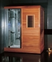 Ariel Platinum - DS201 Steam Shower / Dry Sauna 71 x 48