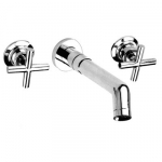 Wall-Mounted Bathroom Faucet with Two Handles - A115140